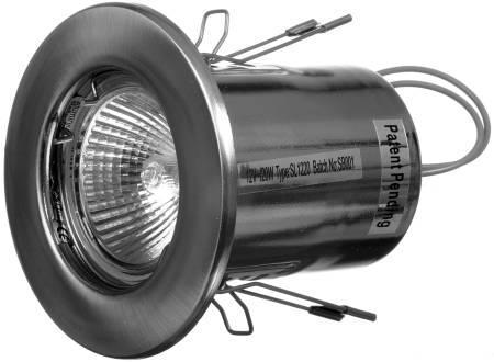 downlight hvid gu10 230v twist sl23020