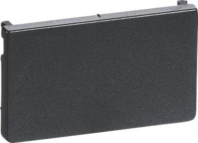 wireless ihc og svagstrømstryk f koksgrå 44x26mm afdækning fuga lk