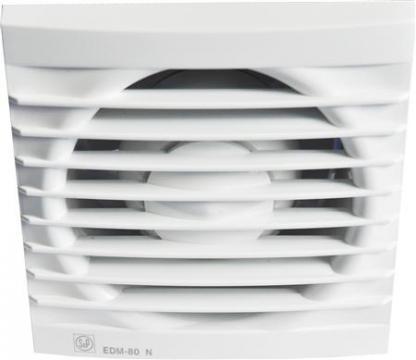 ø94mm 5mm 5x121 121 standard ventilator hvid 80 edm p s