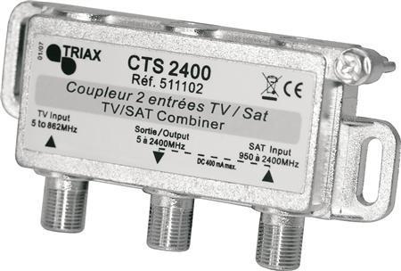 combiner tv-sat 2400 cts filter triax