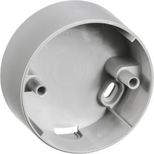 lysegrå lampestikkontakter og lampeudtag f ø80mm underlag