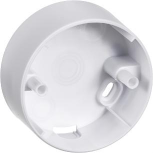 hvid lampestikkontakter og lampeudtag f ø80mm underlag