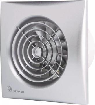 ø118mm 180x180mm standard ventilator hvid cz 200 silent p s