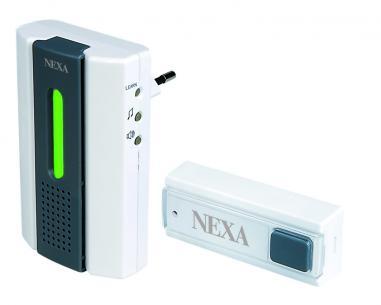 lml-710 stikkontakt til dørklokke trådløs nexa