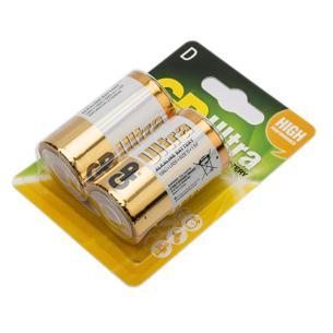 2-pak lr20 d digital ultra gp - batteri alkaline