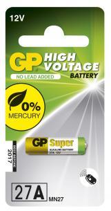 7x28mm ø7 batteri alkaline 12v c1 27a gp