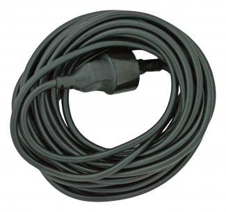 sort jord uden forlængerled og stikprop m 0mm2 2x1 kabelsæt mtr 10