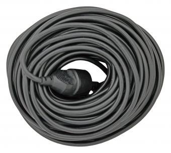 sort jord uden forlængerled og stikprop m 0mm2 2x1 kabelsæt mtr 20