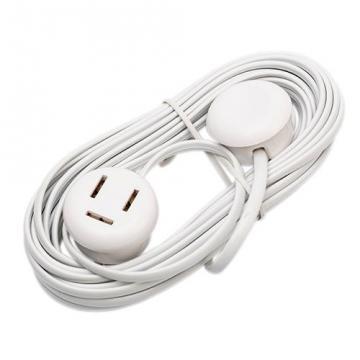 hvid mtr 3 forlængerledning telefon