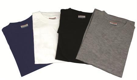 x-large gråmeleret t-shirt