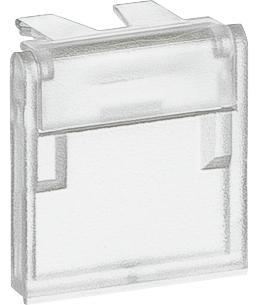 bokse og dataudtag f transparent støvlåg med farvekode lexcom lk