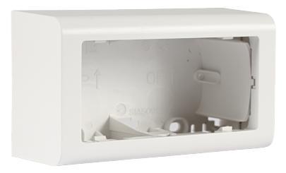 hvid dyb 49mm sprosse uden vandret modul 2 underlag softline fuga lk