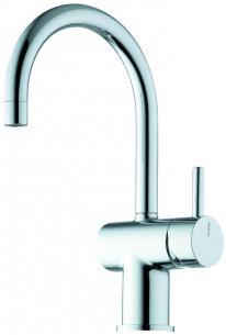 bundventil uden 1-grebs krom håndvaskarmatur a1 børma
