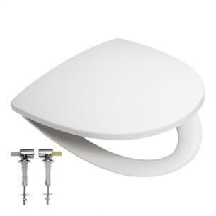 beslag fast release quick closing soft med hvid sæde sign if