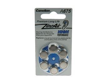 stk 6 620mah 4v 1 celle zink-air pr44 - camelion