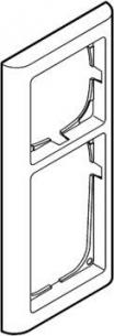 hvid antibateriel modul 5 2 63 ramme softline fuga