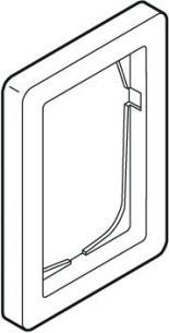 hvid modul 5 1 63 ramme antibakteriel baseline fuga lk