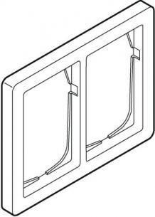 hvid dobbelt vandret modul 5 1 63 ramme antibateriel baseline fuga lk