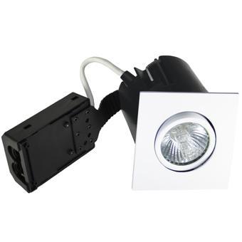 hvid ip44 lyskilde ex 230v gu10 86x86mm install quick - 1203 nordtronic