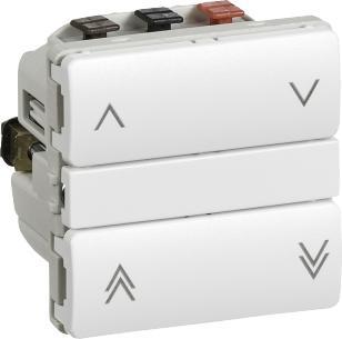 hvid standard afbryder jalousi wireless ihc lk