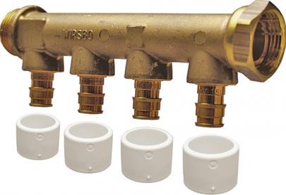 4 3 x mm 15 afgreninger 3 fordelerrør dr easy quick uponor