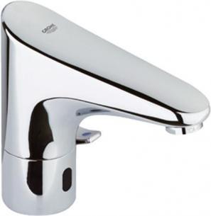 krom - temperaturbegrænser justerbar og elektronik infrarød med 2 1 håndvask til blandingsbatteri e europlus grohe