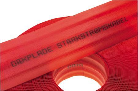 stærkstrøm d rød 8x100mm 1 kabeldæk