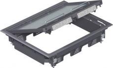 grå 273mm b 220mm l moduler 9 ges6u lågindsats