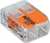 transparant mm2 6 - 14 0 2x samlemuffe skrueløs wago