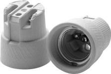 45x43mm bund i huller skrue med sokkel e27 porcelæn fatning