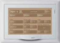 hvid 7 panel touch til ramme ydre