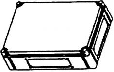 Image of   Cubo C Bund U/låg 300x400x102 Mm.