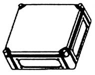 Image of   Cubo C Kasse Grå 300x300x132 Mm.