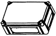 Image of   Cubo C Kasse M/låg 200x300x132 Mm.