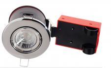 lyskilde ex krom gu10 230v ø87mm 2-setup easy daxtor