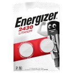 2-bobler v 3 cr2430 batteri knapcelle lithium