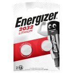 2-bobler v 3 cr2032 batteri knapcelle lithium