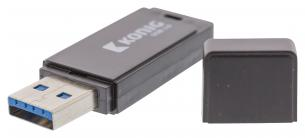Flash-Drev USB 3.0 16 GB Sort