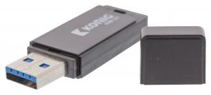 Flash-Drev USB 3.0 32 GB Sort
