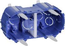 Image of   Opus® 74 Forfradåse 2 Modul, Blå