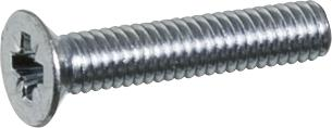 stål undersænket 4x20mm skrue