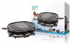 Raclette Grill 8 Personer 900 W Sort
