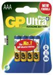 4-pak lr03 aaa plus ultra gp - batteri alkaline