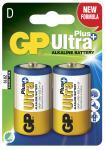 2-pak lr20 d plus ultra gp - batteri alkaline