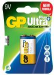 1-pak 6lf22 9v plus ultra gp - batteri alkaline