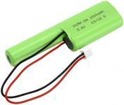 nødbelysning combo til nimh 1000mah 6v 3 eservebatteri