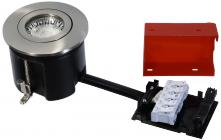 lyskilde ex stål børstet gu10 230v ø87mm 2-use easy daxtor