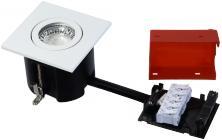 lyskilde ex hvid mat gu10 230v 87x87mm 2-use easy daxtor