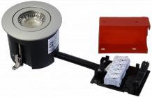 udendørs lyskilde ex stål børstet gu10 230v ø87mm 2-change easy daxtor