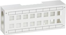 konnektorer u hvid 16xrj45 f patchbox lexcom